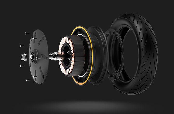 Мотор-колесо электросамоката Ninebot KickScooter Max