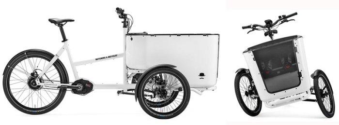 Трехколесный грузовой электровелосипед Butchers & bicycles