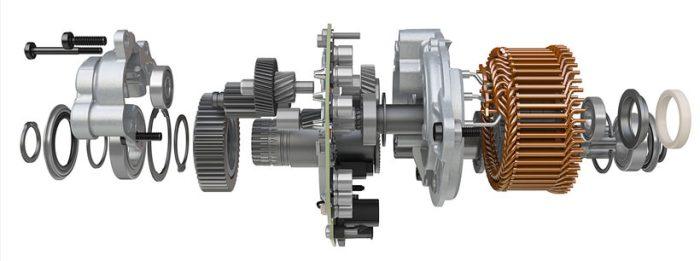 Кареточный веломотор Bosch