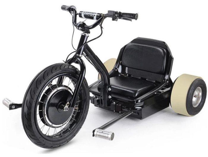 электрический дрифт трайк MotoTec Drifter 48V Electric Trike