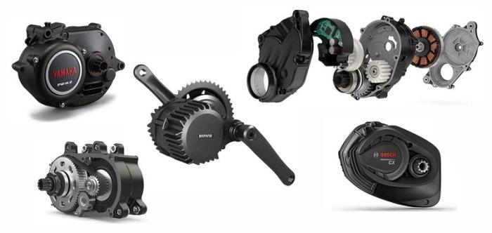 Крутящий момент моторов для электровелосипедов от различных брендов