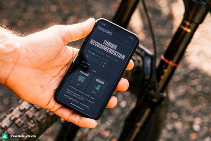 Приложения для смартфонов - горный электровелосипед