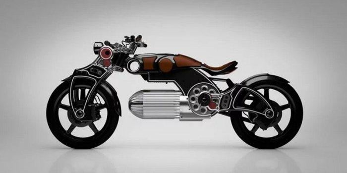 Электромотоцикл Curtiss Hades