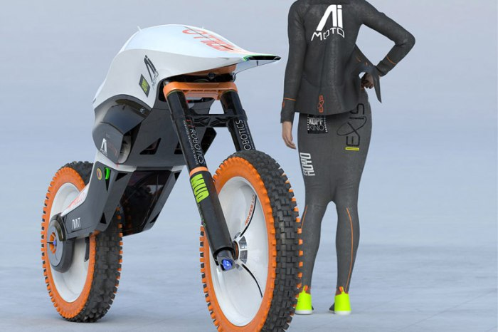 концепт электромотоцикла Armadillo