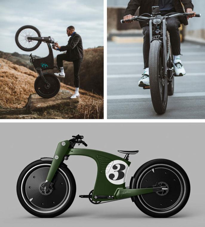 Carbon Fiber e-Bike