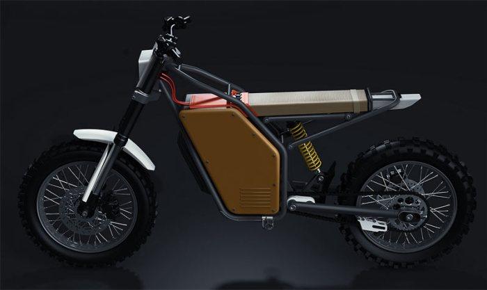 Offset OFR–M1 - новый электромотоцикл из Дании
