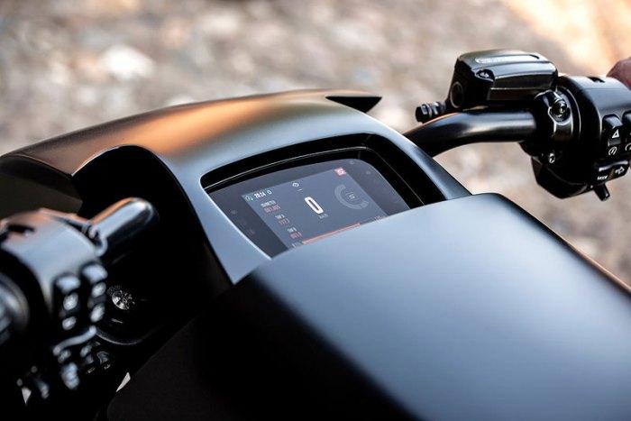 приборная панель кастомный электромотоцикл