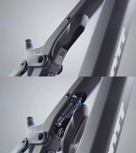 Задний амортизатор FOX Nude T eRIDE EVOL Factory, 160 мм, TwinLoc