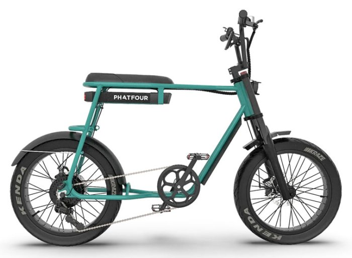 Phatfour Sidecar - электровелосипед с коляской