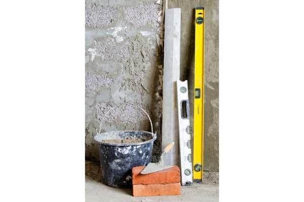 Rénovation d'un mur intérieur