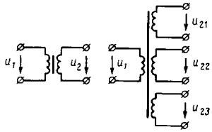 Ponizhaiushchie transformatory obmotki