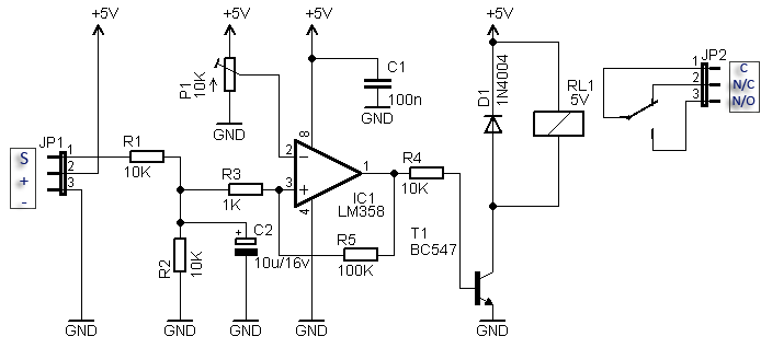 Compact RC Switch Circuit