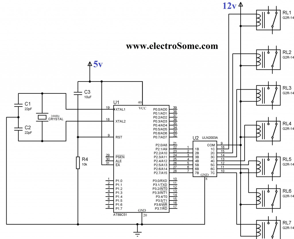 Interfacing Relay With Using Keil C