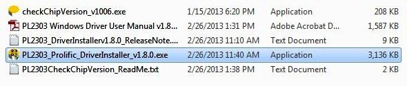 Downloaded Files