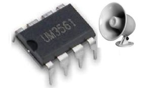 Siren Generator using IC UM3561