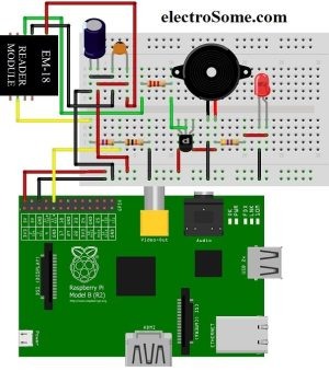 Interfacing EM18 RFID Reader Module with Raspberry Pi
