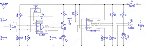 Mobile Phone Detector Hobby Project  Circuit Diagram