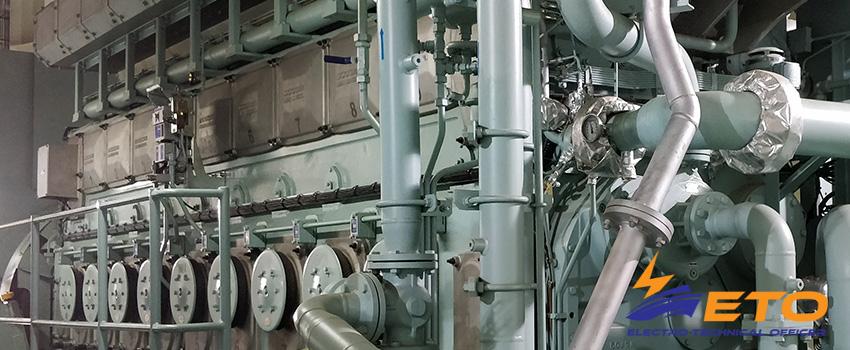 Overcurrent protection of ships generators