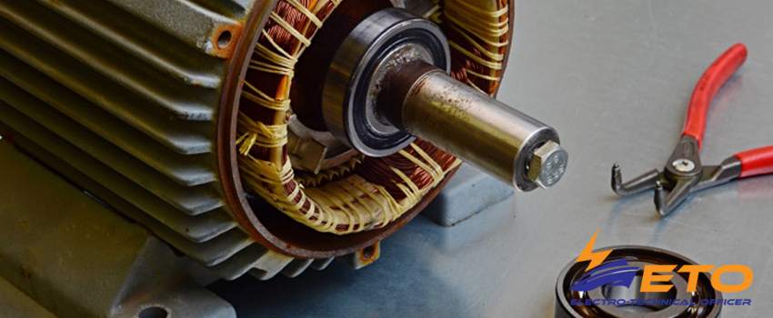 Maintenance Bearings on ship electric motor