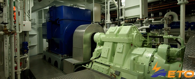 Using Electric Propulsion in Cargo, Cruise, and Navy Ships