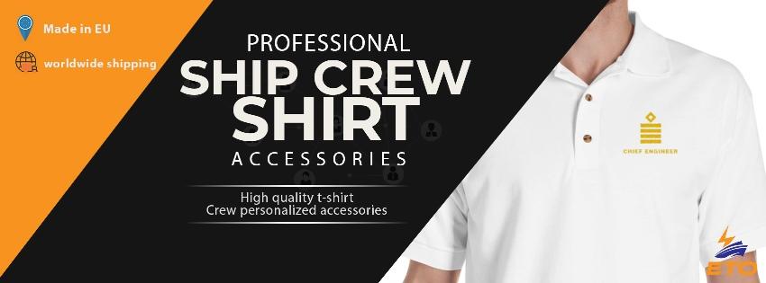 Chief Engineer rank shirt uniform