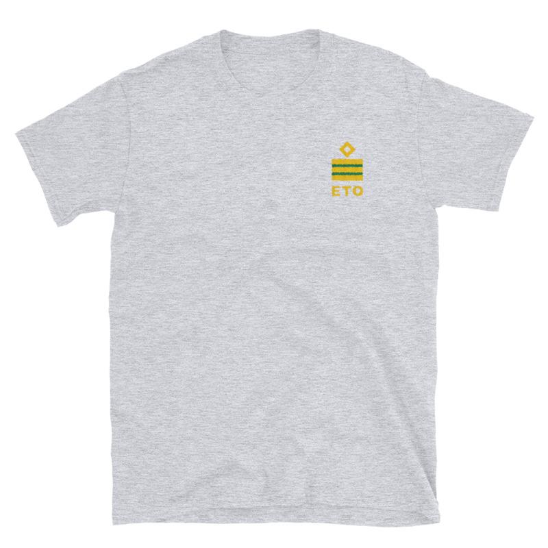 Electro Technical Officer (ETO) working shirt with ship ETO rank 1