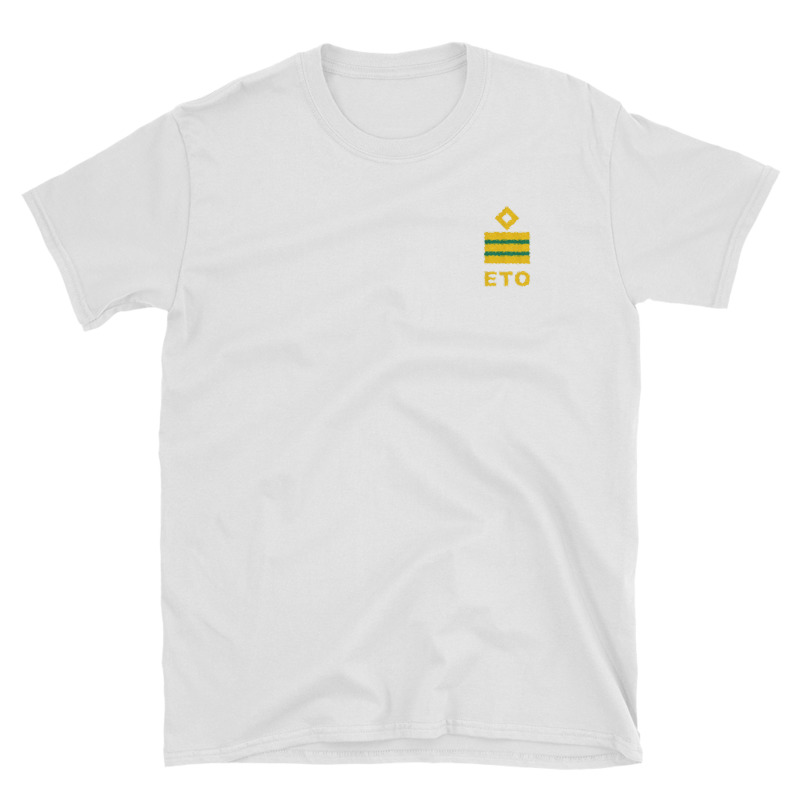 Electro Technical Officer (ETO) working shirt with ship ETO rank 2