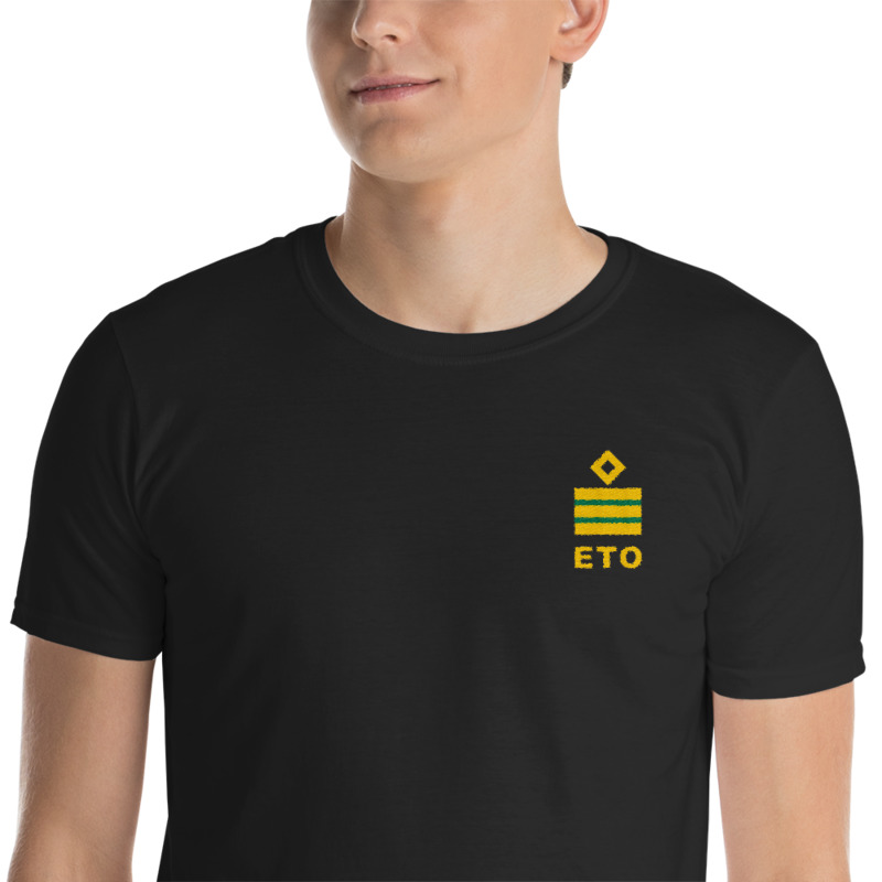 Electro Technical Officer (ETO) working shirt with ship ETO rank 6