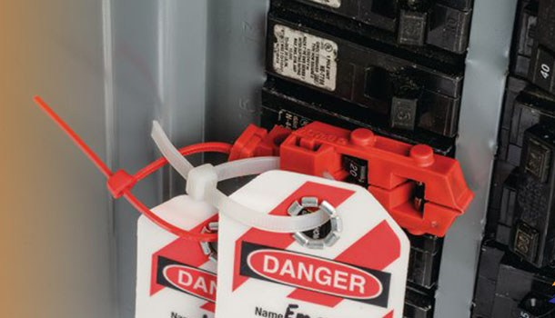 Ship Electrical working procedure, no Lock-out tag
