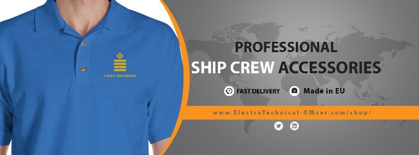 Ship crew professional uniforms