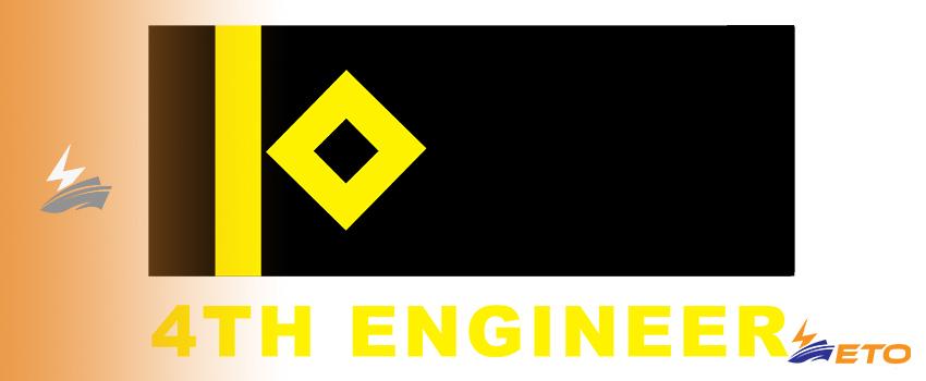 rank for 4th Engineer on ship