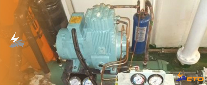Electrical short circuit cause fire on ship