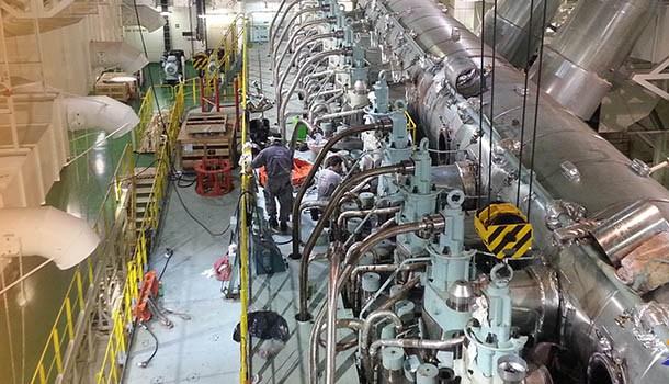 False alarm of oil mist detector (OMD) shut down ship main engine