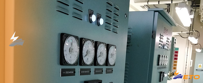 Reactive power in ship electrical systems