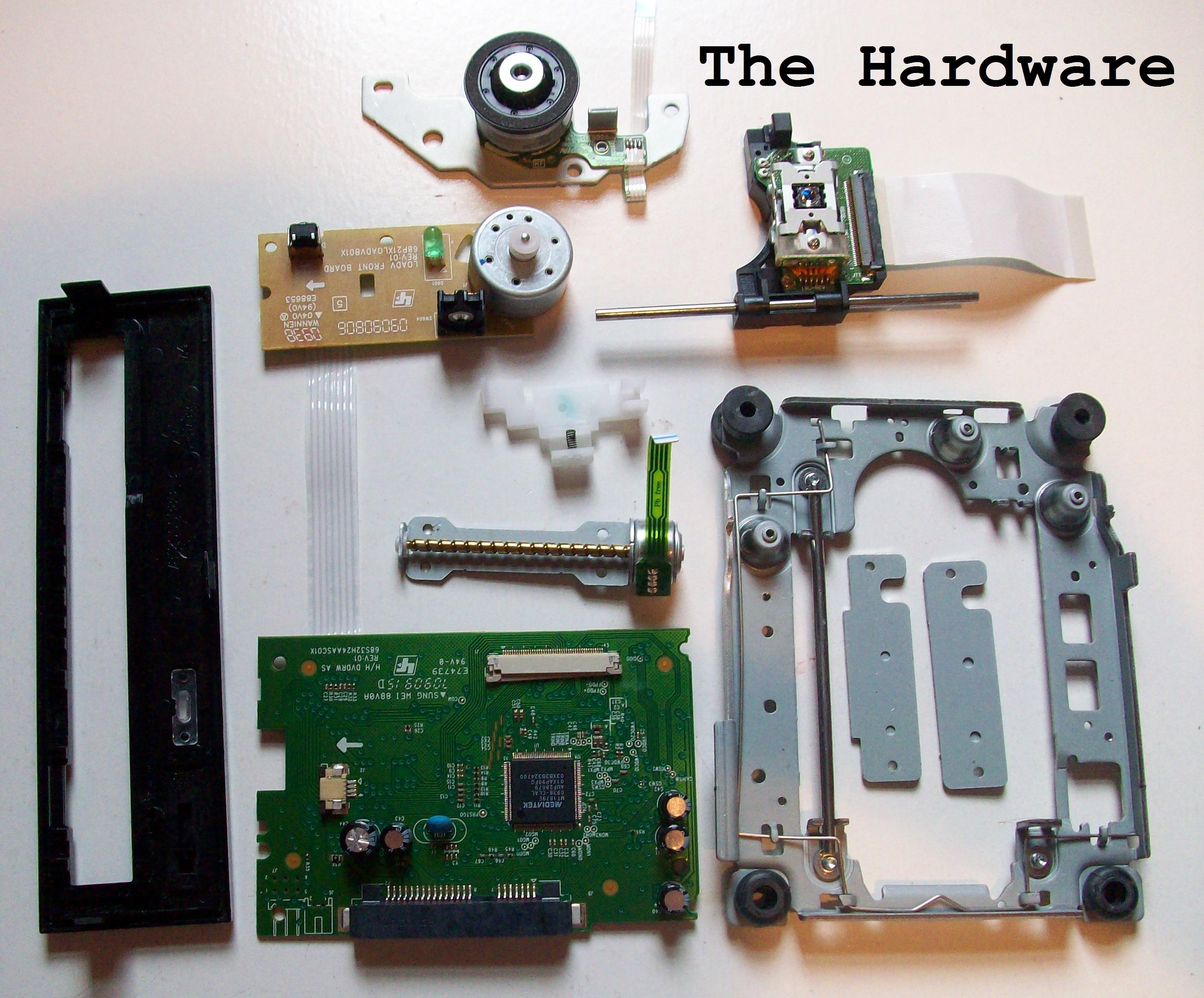 Tech Tear Down Computer Part 1 Cd Rom Drive