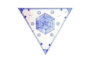 symbole delta 3d print