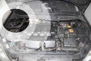 Automobile filtre habitacle peugeot 206 noire