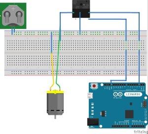 schema relais arduino