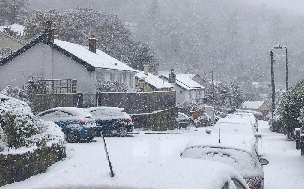 'Junuary' snowfall blankets high elevations across Idaho ...  |Snowing Weather
