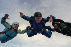 Jumping out of a perfectly good plane... For fun...