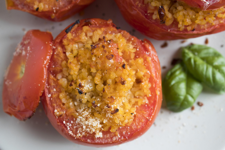 Pomodori ripieni di bulgur