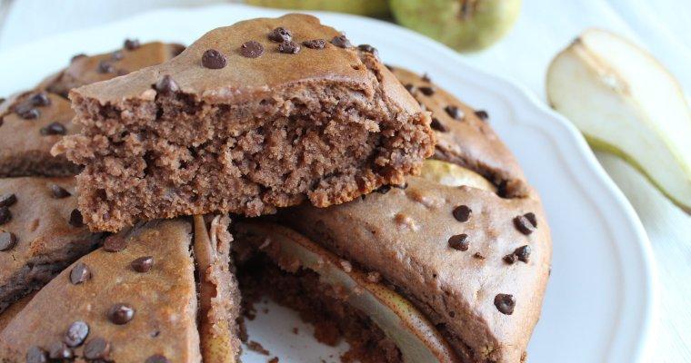 Torta pere e cioccolato del mattino