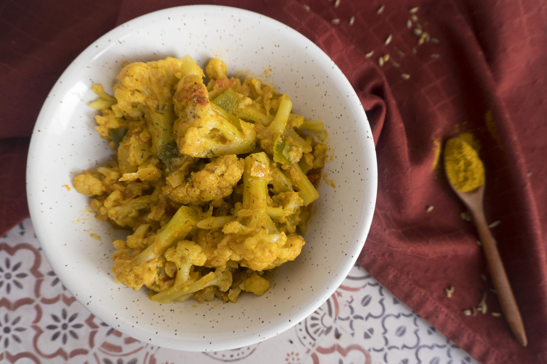 Curry di cavolfiore