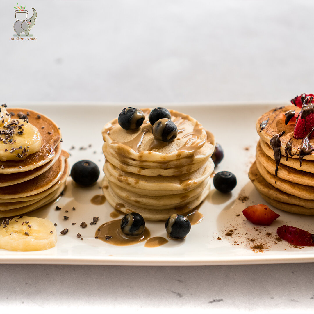 3 pancakes sani e soffici