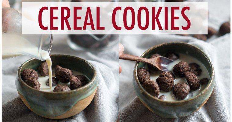 Cereal cookies senza uova e senza burro