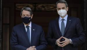 Η συνάντηση του Μητσοτάκη-Αναστασιάδη.  Η λύση του Κυπριακού με λειτουργικά σταθερό κράτος