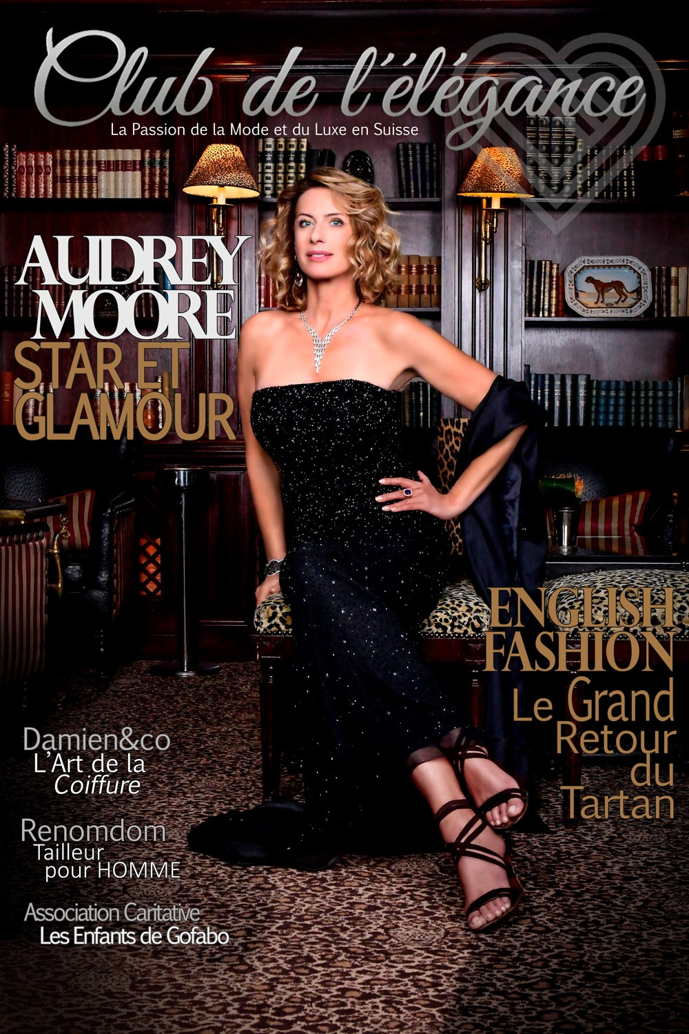 Audrey Moore, Star et Glamour
