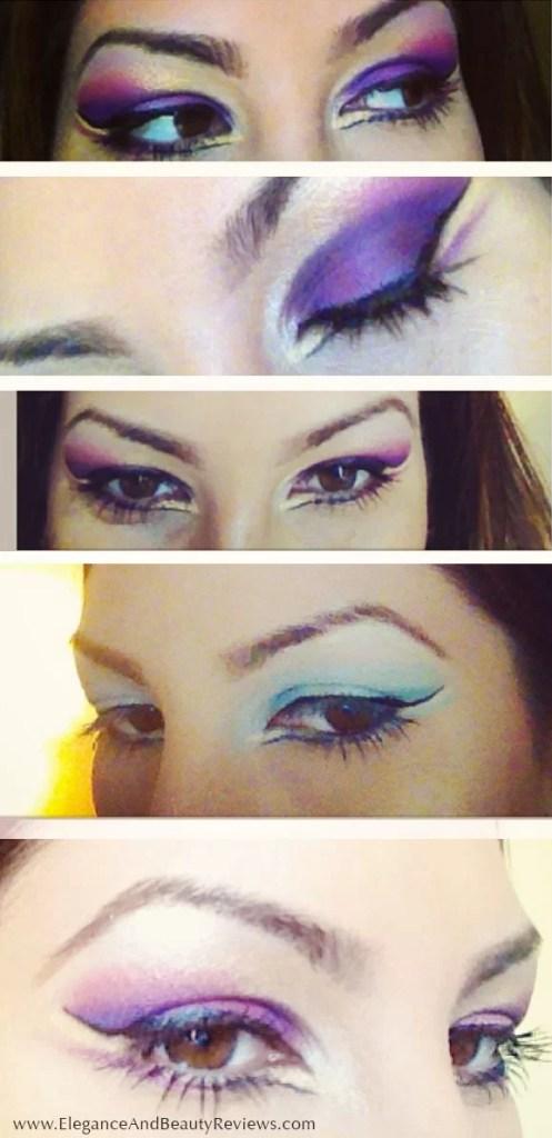 My e.l.f. Essential Flawless Eyeshadow creations!