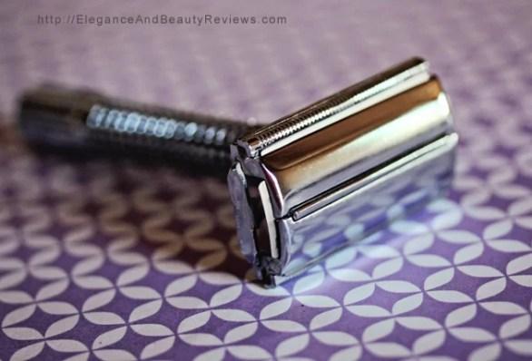 Here's the single blade razor I use.