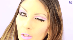 breast cancer awareness makeup